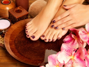 Manicura y pedicura Spa